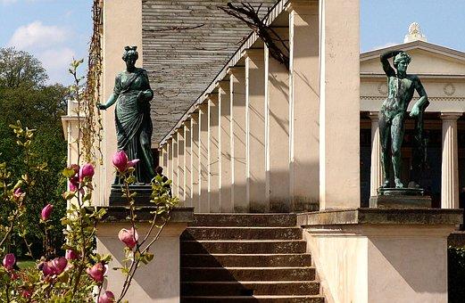 Potsdam, Park, Park Sanssouci, Fig, Garden, Art