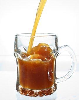 Kvass, Food, Jet, Glass, Drink, Pub, The Thirst, Amber