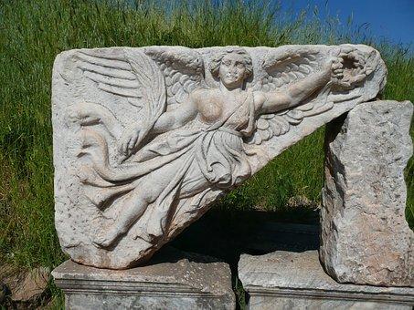 Nike, Goddess Of Victory, City Of Ephesus, Turkey