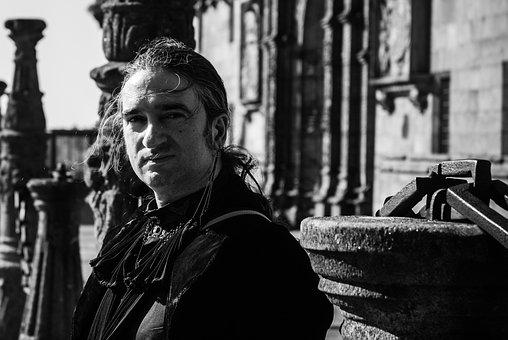 Saint James Compostela, Spain, Gothic, Man
