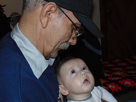 Grandparents, Grandpa, Grandfather, Family, Grandchild