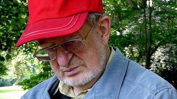 Old Man, Face, Grandpa, Human, Portrait, Close, Head