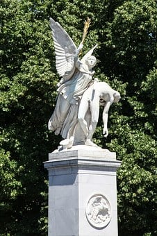 Statue, Angel, Sculpture, Religion, Stone, Hope