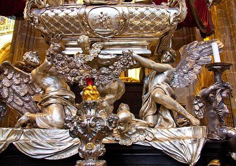 St Vitus Cathedral, Prague, Religion, Interior, Solver