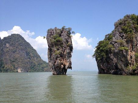 James Bond Island, Thai, Thailand, Island, Asia, Bay