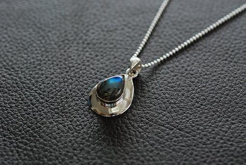 Labradorite, Pendant, Accessories, Necklace, Jewelry