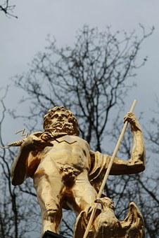 Jupiter, Rome, Roman, God, Deity, Antiquity, Building