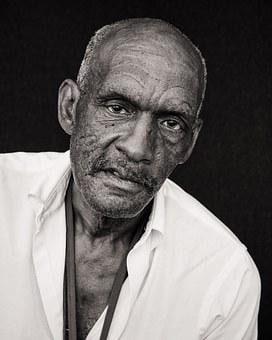 People, Man, Old, Mature, Black, Senior, Elderly