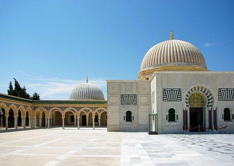 Tunisia, Monastir, Mausoleum, Bourghiba, Mosque, Tomb