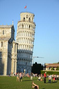 Italy, Pisa, Torre, Monument, Ancient, Old, Campanile