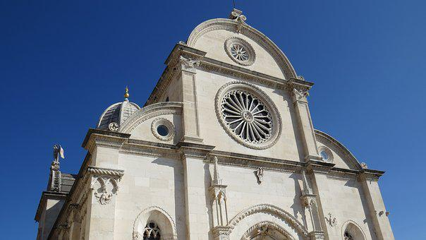 The Cathedral, St James, Sibenik, Monuments