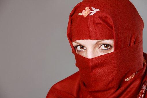 Muslima, Muslim Woman, Eyes, Fashion, Traditional