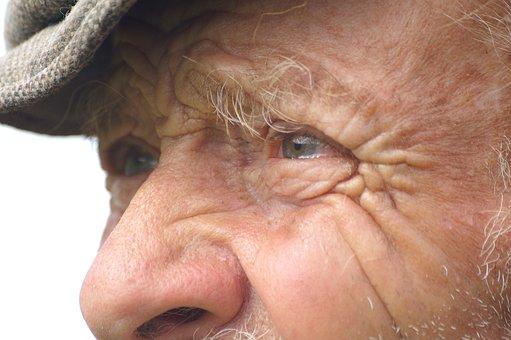 Person, Profile, Portrait, Senior, Eyes, Hair, Mustache
