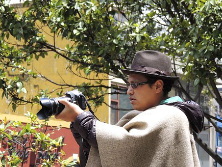 Peasant, Photographer, Boyaca