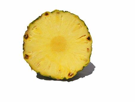 Fruit, Pineapple, Cross Section