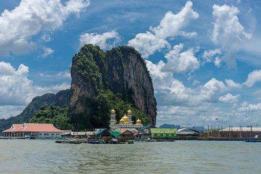 Sea, Tourism, Thailand, Horizon, Seaside, Pleasant