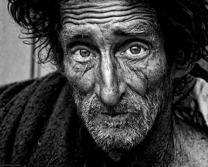 Homeless, Man, B W, Poverty, Male, Poor, Homelessness