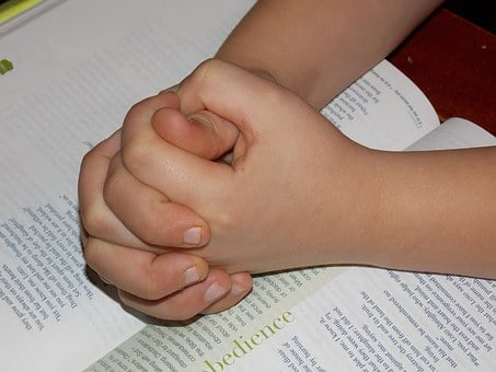 Child Praying Hands, Bible, Pray, Hope, Faith