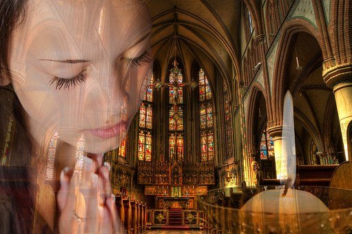 Praying, Church, Christian, Prayer, Religion