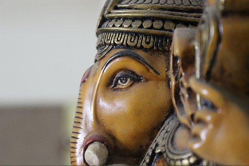 Ganesh, Ganapati, God, Hindu, Religion, Deity, Figure