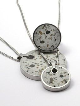 Concrete, Fashion, Ring, Necklace, Pendant, Jewelry