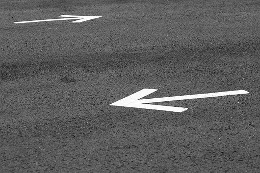 Arrow, Road, Road Signs, Sign, Direction, Way, Symbol