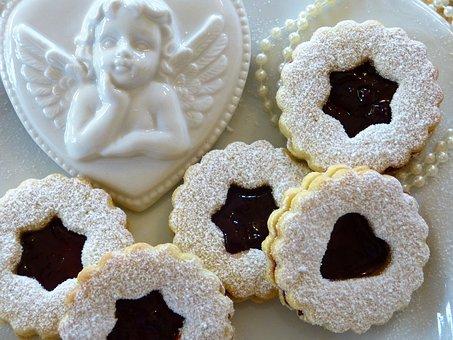 Rogues, Cookie, Christmas Cookies, Filled, Jam