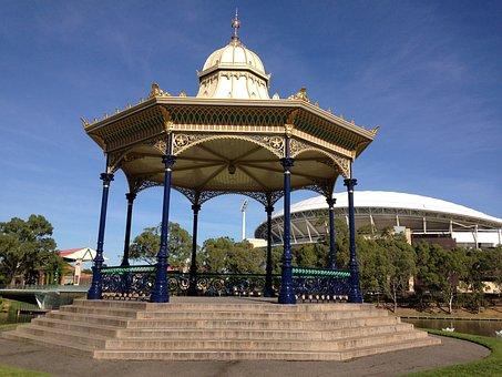 Rotunda, Adelaide, Elder Park, River, Architecture