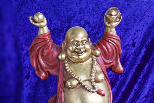 Buddha, Laughing, Sculpture, Fig, Deity, Wealth, Fill
