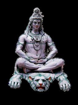 Shiva The Hindu God, Shiva, India, Rishikesh, Ganges
