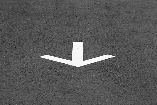 Arrow, Street, Road, Way, Sign, Direction, Symbol