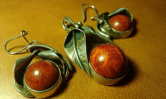 Silver, Set, You Try To, Coral, Miracle, Jewelry