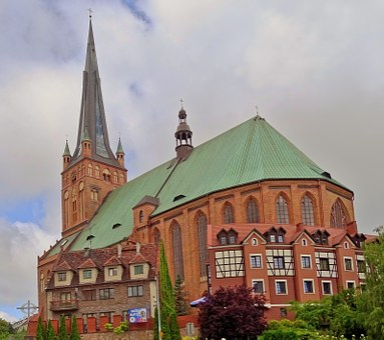 Poland, Stettin, James Bus Cathedral