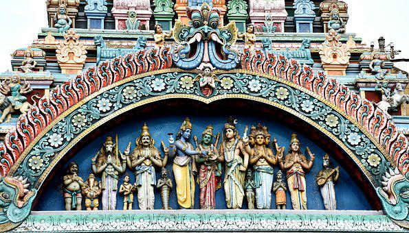 Meenakshi, Sundareswarar, Marriage, Temple, Hindu