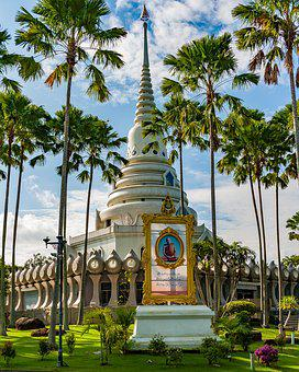 Buddhist Temple In Thailand, Temple, Buddha, Thailand