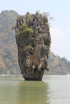 James Bond Island, Vacations, Thailand, Sea, Summer