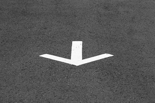 Arrow, Street, Road, Way, Sign, Direction, Symbol