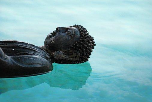 Buddha, Zen, Reflection, Brightness, Aura, Peace
