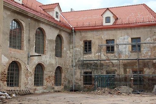 Bauruine, Site, Modernization, Decay, Broken, Destroyed