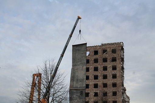 Ruin, Bauruine, Building, Destroyed, Broken, Site