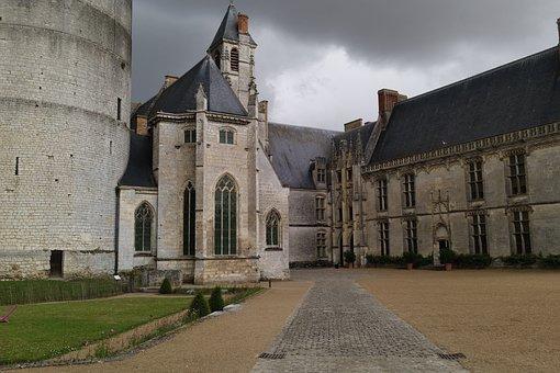 Chateaudun, Castle, Garden, France, Renaissance