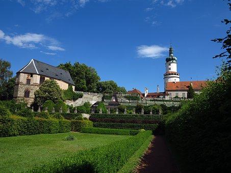 Garden, Castle Garden, Nove Mesto Nad Metuji
