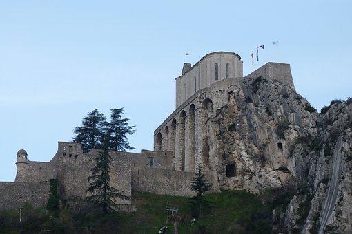 Monuments, Castles, Citadel, Haute Provence, Sisteron