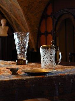 Castle, Nove Mesto Nad Metuji, Glass, Cut Glass