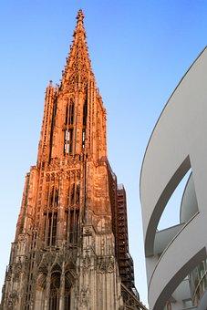 Ulm Cathedral, Ulm, Münster, Dom, Tower, Steeple