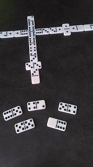 Dominoes, Games, Domino, Pattern, Set, Play, Leisure