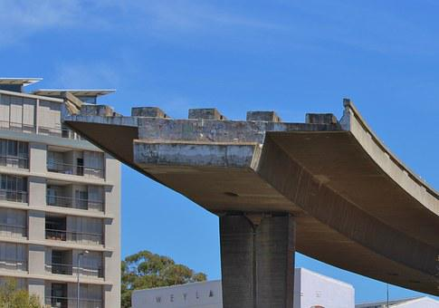 Bauruine, Highway, End Of The Road, Downtown, Cape Town