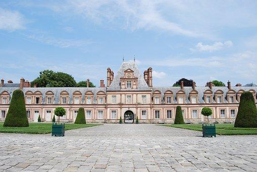 Castle, Imposing, Symmetrical, Historically
