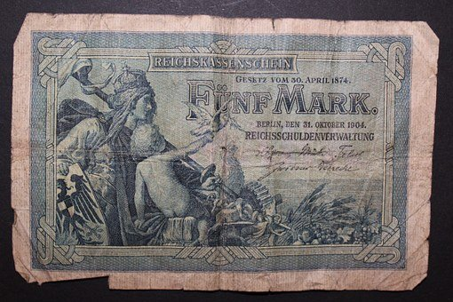 Reichsmark, Imperial Banknote