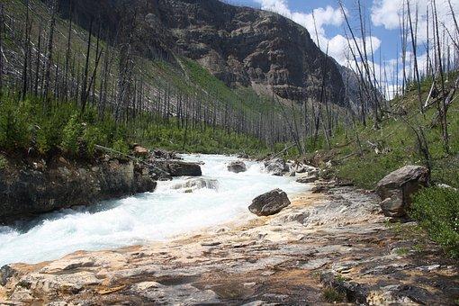 Kaňón, Marble, Canada, Rockies, Park, Wilderness